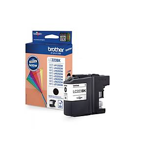 Brother LC223BK inkt cartridge, zwart, 550 pagina s