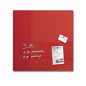 Sigel Artverum Glassboard 48 X 48cm - Red