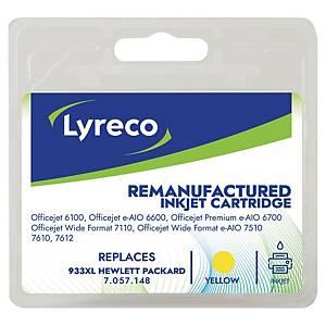 Blækpatron Lyreco HP CN056A 825 sider gul