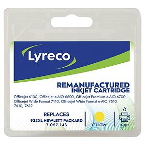 Lyreco compatible HP CN048AE inkjet cartridge nr.933XL yellow [825 pages]