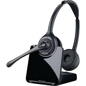 Headset Plantronics 84692-02 CS520A, kabelgebunden, schwarz