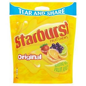 Starburst Original Chew Pouch 210G - Pack of 12