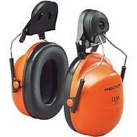 3M ที่ครอบหูลดเสียง รุ่น H31P3E ชนิดประกอบหมวกนิรภัย