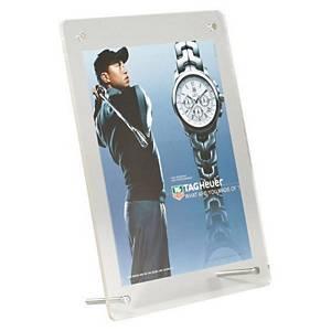 Acrylic Free Standing Desktop Frame A5