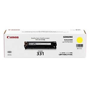 Canon 331 Toner Cartridge - Yellow (1500 Pages)