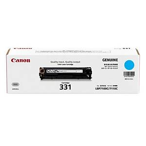 Canon 331 Toner Cartridge - Cyan (1500 Pages)
