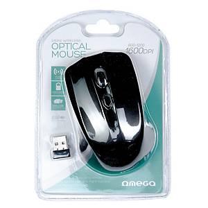 Bezprzewodowa mysz optyczna OMEGA OM-419, czarna