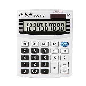 Rebell SDC410 Tischrechner mit 10-stelligem Display