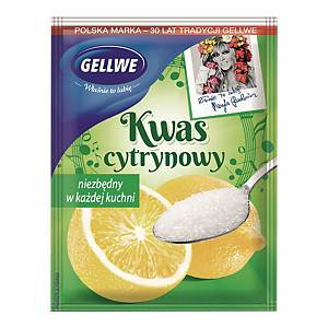 GELLWE CITRIC ACID 20G