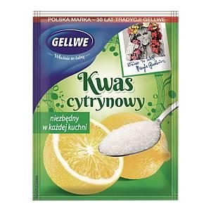 Kwasek cytrynowy GELLWE, 20 g