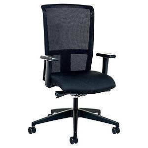 Bürodrehstuhl Level-X 3462, hohe Rückenlehne, schwarz