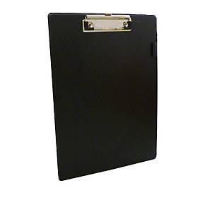 PVC Coated Black Foolscap Clipboard