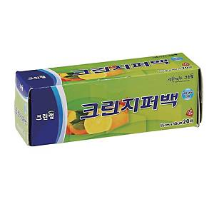 크린랲 지퍼백 15 X 10cm (20매입)