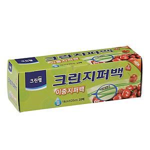 크린랲 지퍼백 18 X 20cm (20매입)
