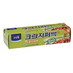 크린랲 지퍼백 25 X 30cm (20매입)