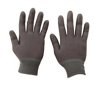 PK10 PU COATING GLOVE PU-TOP-GREY M