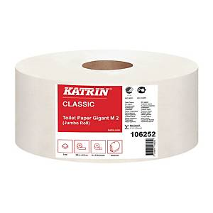 Toalettpapir Katrin 106252 Classic Gigant, pakke à 6 ruller