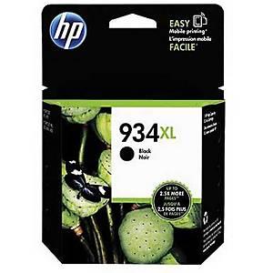 Tintenpatrone HP No.934XL C2P23AE, 1000 Seiten, schwarz