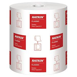Håndklædepapir Katrin 460102 M Classic, pakke a 6 ruller
