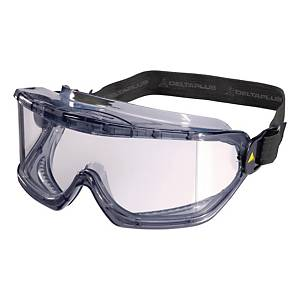 Deltaplus Galeras kosárszemüveg, átlátszó