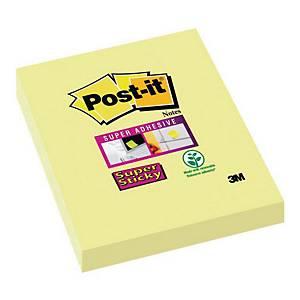 Karteczki samoprzylepne Post-it Super Sticky, Żółte, 48x76mm, 12x90 karteczek