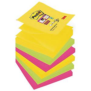 Karteczki Post-it Super Sticky Z-Notes, Rio de Janeiro, 76x76mm, 6x90 karteczek