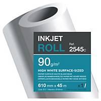 Rollo papel para plóter alta blancura Clairefontaine 2545C - 24   - 90 g/m2