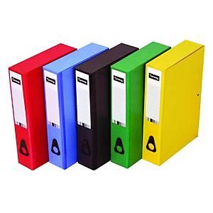 Lyreco Green Foolscap Box File