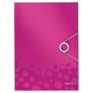Leitz WOW kulmalukkokansio A4 pinkki