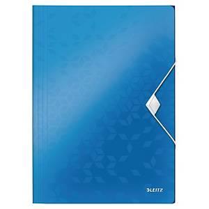 Leitz WOW irattartó 3 pólyával, kék