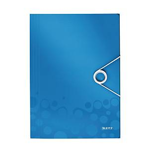 LEITZ 4599 WOW 3-FLAP FOLDER BLUE