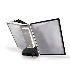 Sichttafel Durable Sherpa 5811, A4, grau/schwarz, 10 Stück