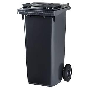 Affaldscontainer Cep Citec, 120 L, grå, grå låg