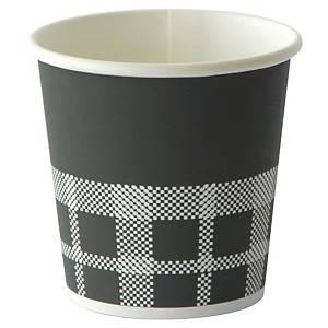 Gobelet en carton Duni Izza - 12 cl - paquet de 45