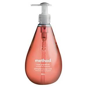 Savon mains Méthod - Ecolabel - pamplemousse rose - flacon pompe de 354 ml