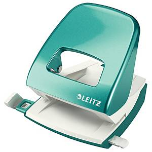 Leitz Wow 5008 metal 2-hole punch 30 sheets - ice blue