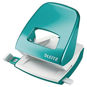 Dierovač Leitz 5008 WOW NeXXt, kapacita: 30 listov, ľadovo modrá