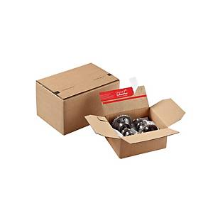 Pack de 10 cajas postales ColomPac - 156 x 129 x 70 mm