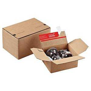ColomPac® doos met vaste hoogte, A5, bruin, 153 x 109 x 213 mm, pak van 10 dozen
