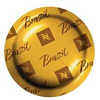Kawa w kapsułkach NESPRESSO ORIGIN BRAZIL, 50 szt. (box)