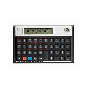 Calculatrice de poche HP 12C Plantinum, calculatrice finan., vers. all./ita.