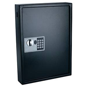 Pavo biztonsági kulcsszekrény, 100 kulcsos, fekete