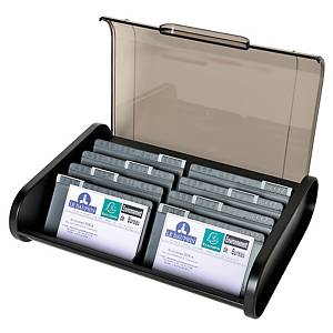 EXACOMPTA TOPLINE B/CARD HOLDER 400CARDS