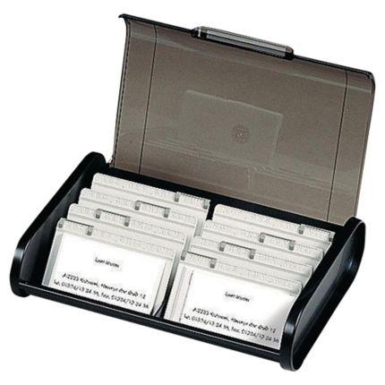 Visitenkartenbox Exacompta 68114d Für 400 Karten 8