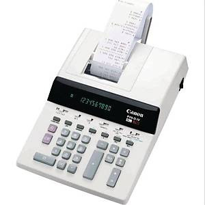 Utskriftskalkulator Canon P29-DIV, hvit, 10 sifre