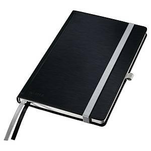 Zápisník Leitz Style, A5, linkovaný, 160 stran, černý