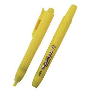 모리스 노크식 형광펜 101 노랑 (12개 구매시 다스구성)