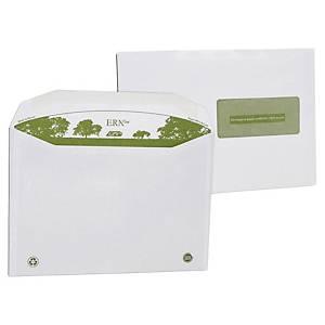 Enveloppe mécanisable recyclée 162 x 229 - 80 g - fenêtre 45 x 100 - par 500