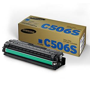 Samsung CLT-C506S laservärikasetti syaani