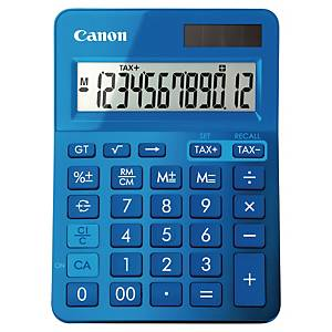 Canon K-Series 12 Digit Desk Calculator Blue